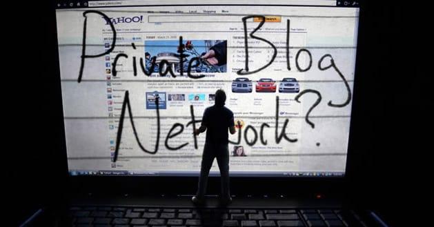 """شبکه خصوصی وبلاگ """"private blog network """""""