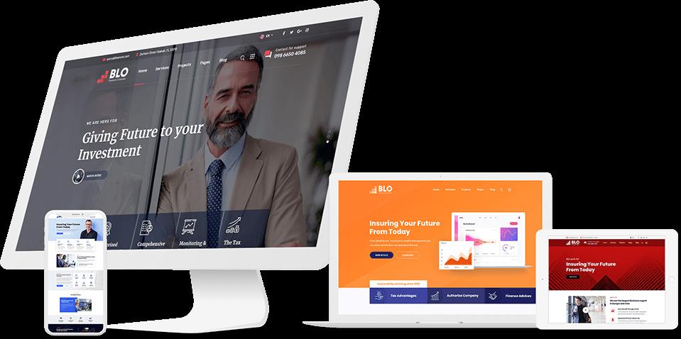 طراحی سایت حرفه ای و واکنش گر